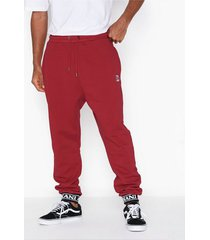 karl kani kk retro sweatpants byxor burgundy