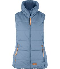 gilet imbottito a collo alto (blu) - bpc bonprix collection