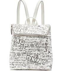 dkny tilly graffiti logo backpack, created for macy's