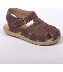 sandalia marrón pians franciscana