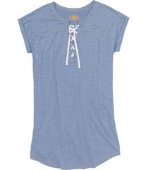camicia da notte oversize (blu) - bpc bonprix collection