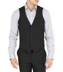 bar iii men's slim-fit solid wool suit vest, created for macy's