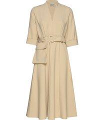 reemgz dress ms20 jurk knielengte beige gestuz
