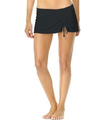anne cole sarong swim skirt women's swimsuit