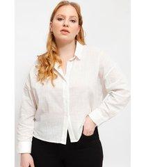 blusa wados camisera blanco - calce regular