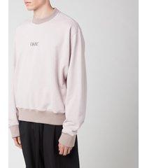 oamc men's jugend crewneck sweatshirt - dove - xl