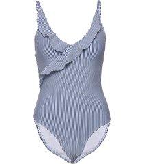 santorini swimsuit baddräkt badkläder blå missya