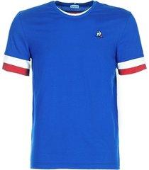 t-shirt korte mouw le coq sportif tri tee