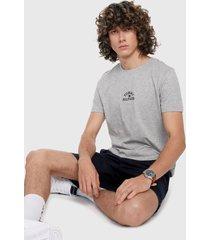 camiseta gris-multicolor tommy hilfiger