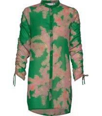 shirt w. tie string at sleeves tunika grön coster copenhagen