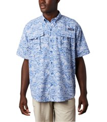 columbia men's big & tall super bahama short-sleeve shirt