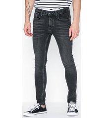 topman washed black spray on jeans jeans washed black