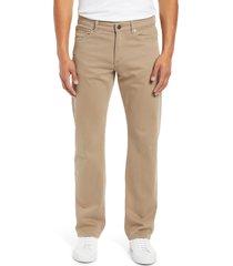 men's dl1961 avery modern straight leg jeans, size 42 x 34 - beige