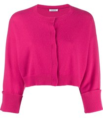 p.a.r.o.s.h. flared sleeve cardigan - pink