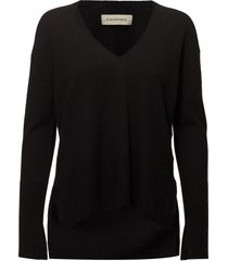 accina stickad tröja svart by malene birger