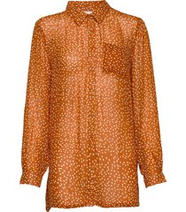 abia sh blouse lange mouwen oranje part two