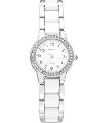 reloj blanco amphora 054