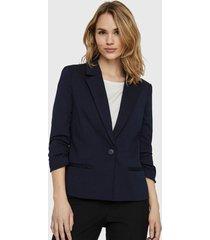 blazer vero moda azul - calce ajustado