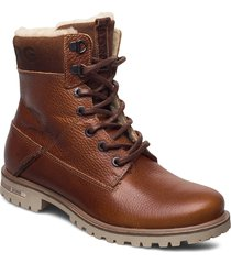 kenna hgh tmb w shoes boots ankle boots ankle boot - flat brun björn borg