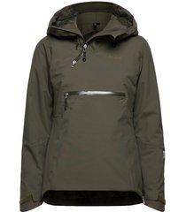 stranda ins hybrid w anorak outerwear sport jackets grön bergans