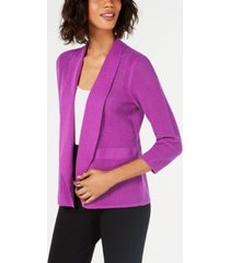 alfani open-knit cardigan, created for macy's