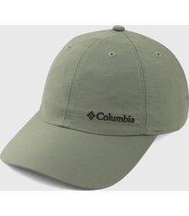 gorra verde columbia tech shade ii hat