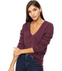 sweater violeta sans doute alaia