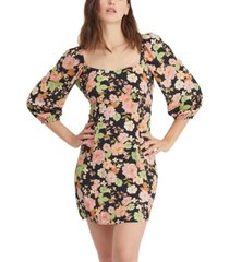 sanctuary dolce floral-print mini dress