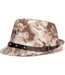 cappellino hip-hop da cowboy, cappello da cowboy, cappello da spiaggia casual, cappello estivo da uomo