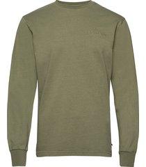 casual long sleeve tee sweat-shirt tröja grön han kjøbenhavn