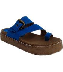sandalia azul omm cata