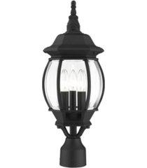 frontenac 3 lights outdoor post top lantern
