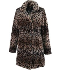 coat teddy print