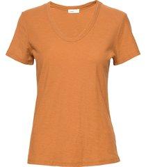 lr-any t-shirts & tops short-sleeved orange levete room