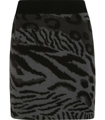 kenzo cheetah leopard mini skirt
