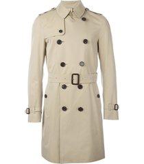 burberry the sandringham - long trench coat - neutrals