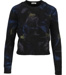 saint laurent tie-dye sweatshirt
