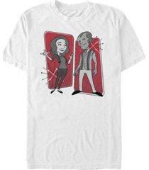 fifth sun men's retro panels short sleeve crew t-shirt