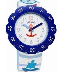 reloj anchor up azul flik flak