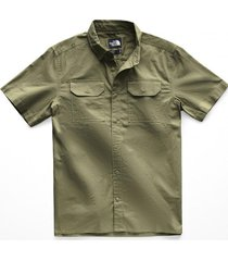 camisa s/s battlement verde the north face
