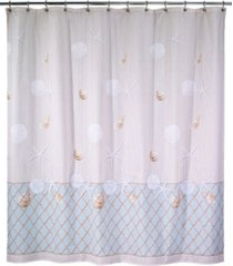 avanti seaglass shower curtain bedding