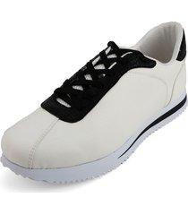 tenis blanco por negro blanco perla 2020