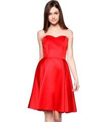 sukienka gorsetowa arabela czerwona