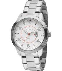 relógio technos performance masculino 2115ktm1b prata