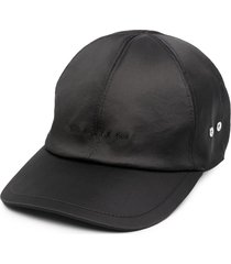 1017 alyx 9sm satin logo baseball cap - black