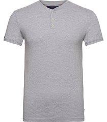 heritage ss grandad t-shirts short-sleeved grå superdry