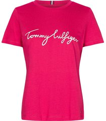 t-shirt graphic roze