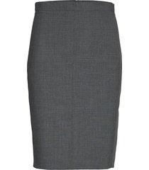 sydneykb pencil skirt knälång kjol grå karen by simonsen