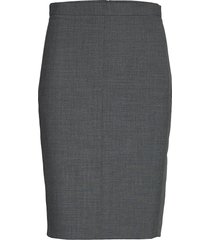 sydneykb pencil skirt knälång kjol grå karen by simonsen