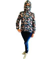 chaqueta antifluido proteccion  covid 19  flores f prot s